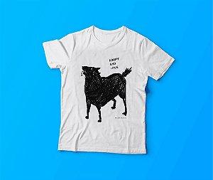 camiseta adote cão