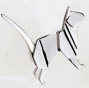 broche em metal gato