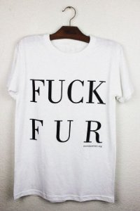 camiseta fuck fur