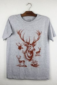 camiseta cervo
