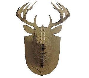 cabeça decorativa cervo