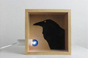 luminária corvo