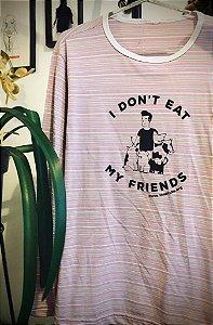 camiseta manga longa listrada morrissey