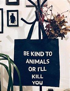 ecobag sarja resinada marinho be kind to animals