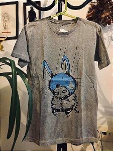 camiseta tingimento artesanal tam P adriano lemos