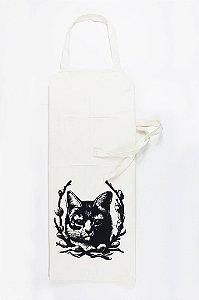 avental sarja branca gata