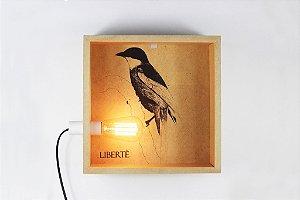 luminária de parede libertè