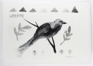gravura em serigrafia Biel Carpenter