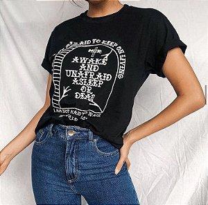camiseta awake da Yaaas - tamanho P