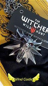 Pingente Witcher 3 - Wolf