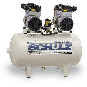 Compressor Odontológico Schulz | CSD 18/100 - 220V