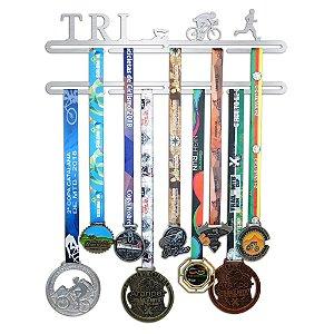 Porta Medalhas Triatlo Masculino - Tri