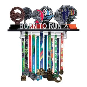 Porta Troféus e Medalhas Corrida Feminino - Born To Run