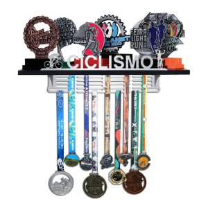 Porta Troféus e Medalhas Ciclismo