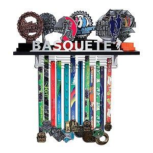 Porta Troféus e Medalhas Basquete Masculino