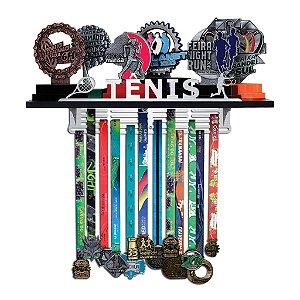 Porta Troféus e Medalhas Tênis Masculino
