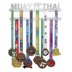 Porta Medalhas Muay Thai Feminino