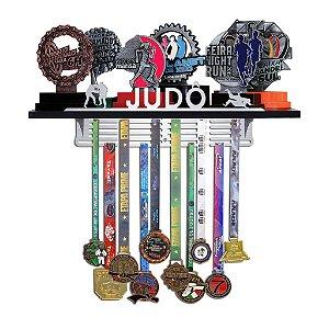 Porta Troféus e Medalhas de Judô