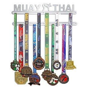 Porta Medalhas Muay Thai Masculino