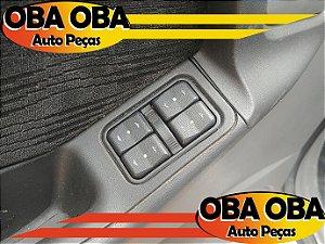 Botão de Vidro Dianteira Esquerda Chevrolet Meriva 1.8 Gasolina 2002/2003