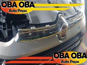 Grade Central Dianteira com Emblema Fiat Toro 4x4 Diesel 2.0 2016/2017