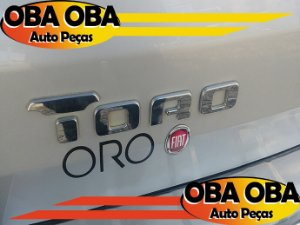 Emblema da Tampa (TORO) Fiat Toro Volcano Tração 4x4 Diesel 2.0 2016/2017