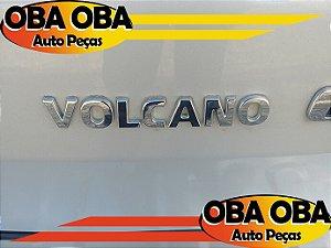 Emblema Da Tampa (Volcano) Fiat Toro Volcano Tração 4x4 Diesel 2.0 2016/2017