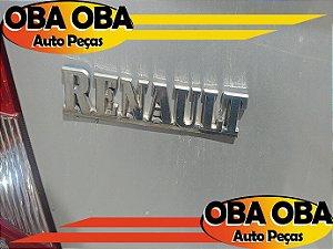 Emblema Da Tampa (Renault) Logan 1.0 16v Flex 2008/2009