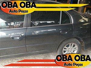 Porta Traseira Esquerda Honda Civic LX 1.7 16v Gasolina 2004/2004