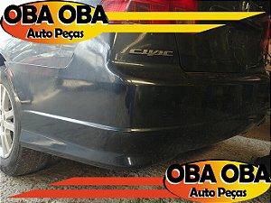 Parachoque Traseiro Honda Civic LX 1.7 16v Gasolina 2004/2004