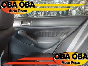 Forro De Porta Traseira Direita Honda Civic LX 1.7 16v Gasolina 2004/2004
