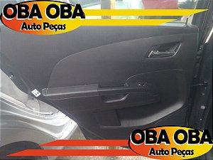 Forro De Porta Traseira Esquerda Sonic Sedan Ecotec 1.6 16v Flex 2012/2013