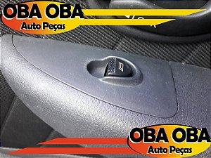 Botão de Vidro Dianteiro Direito Siena Fire Flex 1.0 2007/2007