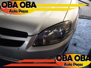 Farois Esquerdo Chevrolet Celta Ls 1.0 Flex 2013/2013