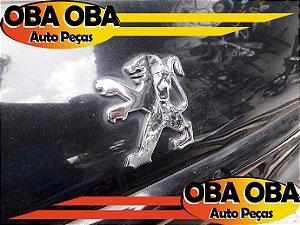 Emblema da Tampa Leão Peugeot 206 1.4 Flex 2008/2008