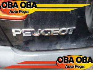 Emblema da Tampa 206 Peugeot 206 1.4 Flex 2008/2008
