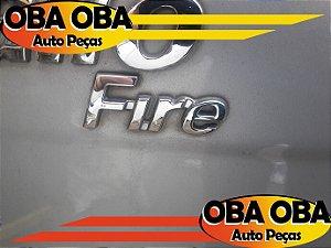 Emblema da Tampa Traseira FIRE Palio 1.0 Fire Flex 2010/2010