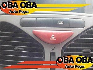 Botão de Alerta Palio 1.0 Fire Flex 2010/2010