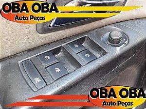 Botão de Vidro Dianteiro Esquerdo Cruze LTZ 1.8 16v Flex GNV 2013/2014