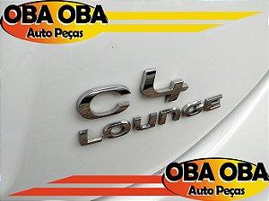 Emblema da Tampa (C4 Louge) Citroen C4 1.6 Lounge Thp Aut 2016/2017