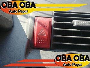 Botão de Alerta Honda Fit 1.4 8 Velas 2004/2004