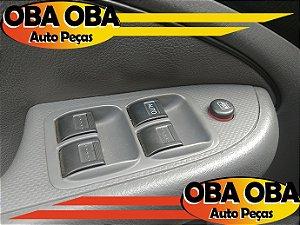Botão de Vidro Dianteira Esquerda Honda Civic Lx 1.7 Aut 2001/2002