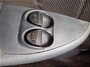 Botão Vidro Dianteiro Esquerdo Fiat Palio Fire 1.0 8v Flex