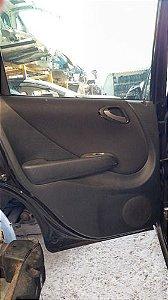 Forro De Porta Traseiro Esquerdo Honda Fit Ex 1.5 07/08