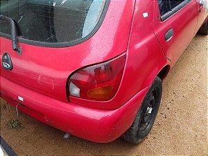 Traseira Com Teto Ford Fiesta Endura 1.0 1998 1999