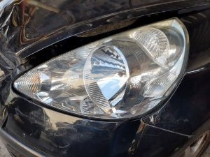 Farol Esquerdo Honda Fit Ex 1.5 Gasolina At 2007/008