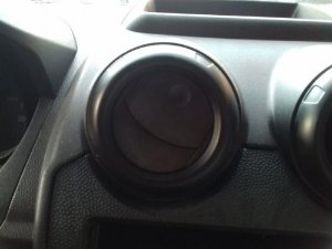 Difusor De Ar Central Esquerdo Ford Fiesta 1.0 8v Flex 2009