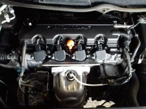 Motor Parcial Honda New Civic 1.8 Flex 2007 A 2011