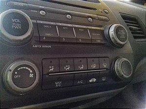 Rádio Original Honda New Civic 2007 A 2011