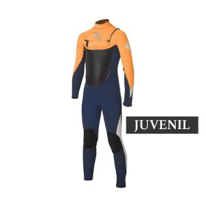 Long John Rip Curl Dawn Patrol Vedado 3.2mm Chest Zip - Juvenil